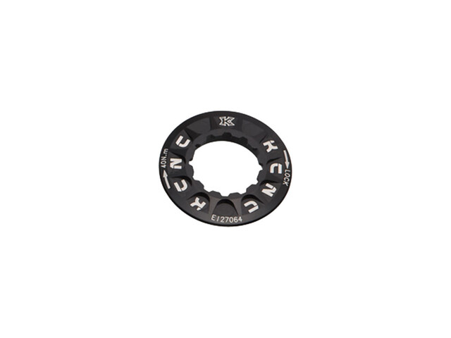 KCNC Lockring Shimano Center Lock zwart